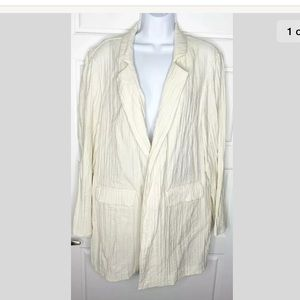 Chico's size 3 open jacket
